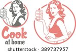 Cook At Home Pin Up Girl...