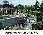 conceptual design   organic...   Shutterstock . vector #389739523