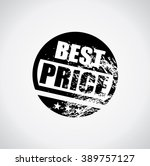 best price stamp style black... | Shutterstock .eps vector #389757127
