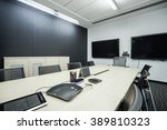 business meeting room or board... | Shutterstock . vector #389810323