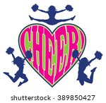 Cheer Heart Is An Illustration...