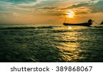 view of sunrise kao seng... | Shutterstock . vector #389868067