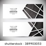 website header or banner set.... | Shutterstock .eps vector #389903053