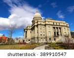idaho state capital | Shutterstock . vector #389910547