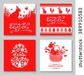 vector illustrations of easter...   Shutterstock .eps vector #389910583