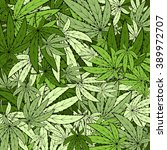 marijuana background eps 10 | Shutterstock .eps vector #389972707