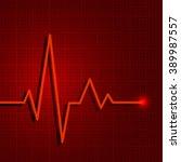 Heart Pulse Graphic. Vector...