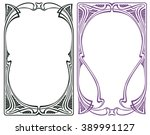 vector abstract framework from... | Shutterstock .eps vector #389991127