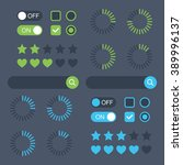 web design elements. universal...