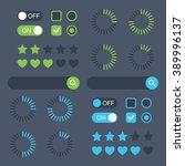 web design elements. template...