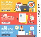 human resources  job... | Shutterstock .eps vector #390011293