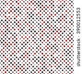 seamless circle pattern. vector ... | Shutterstock .eps vector #390012553