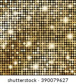 Abstract Gold Mosaic...