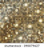 Abstract Gold Mosaic...