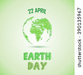 Green Earth Day Background...