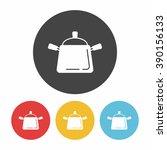 pot icon | Shutterstock .eps vector #390156133