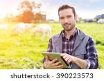 view of a young attractive...   Shutterstock . vector #390223573