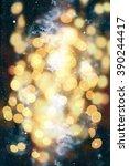 background with blinking stars   Shutterstock . vector #390244417