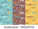 Seamless Patterns Set Of...