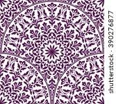 seamless oriental pattern.   Shutterstock .eps vector #390276877
