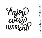 hand lettering typography... | Shutterstock .eps vector #390307357