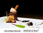 restaurant food   lean beef | Shutterstock . vector #390321967