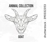 Goat Head Geometric Lines...