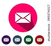 icons mail for web and mobile | Shutterstock .eps vector #390374317