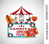 circus and carnival design | Shutterstock .eps vector #390407257