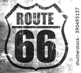 route 66 sign | Shutterstock . vector #390495157