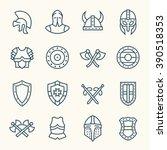 Armor Line Icons