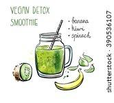 vector illustration of vegan...   Shutterstock .eps vector #390536107