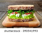 Superfood Sandwich With Avocad...