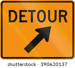 road sign used in the us state... | Shutterstock . vector #390620137