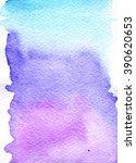 watercolor background   Shutterstock . vector #390620653
