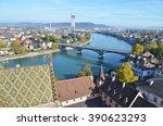 basel from top | Shutterstock . vector #390623293