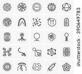 viruses | Shutterstock .eps vector #390649783
