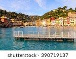 portofino  italy | Shutterstock . vector #390719137