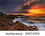 beautiful dreamy  sharp but... | Shutterstock . vector #39071992