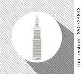 residential icon design  | Shutterstock .eps vector #390724843