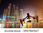 Modern Drone In Motion....