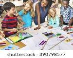 geography worldwide explorer... | Shutterstock . vector #390798577