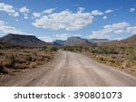 a dirt track leads invitingly... | Shutterstock . vector #390801073
