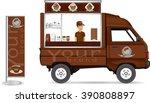 truck shop.vector | Shutterstock .eps vector #390808897