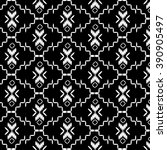 black and white color tribal... | Shutterstock .eps vector #390905497