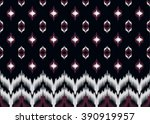 geometric ethnic oriental ikat... | Shutterstock .eps vector #390919957