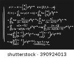 math formulas | Shutterstock .eps vector #390924013