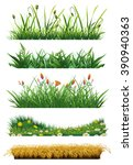 Grass Set Of Vector Elements....