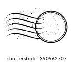 vector blank rubber stamp  | Shutterstock .eps vector #390962707