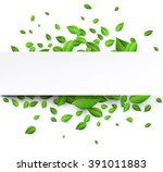 White Background With Fresh...